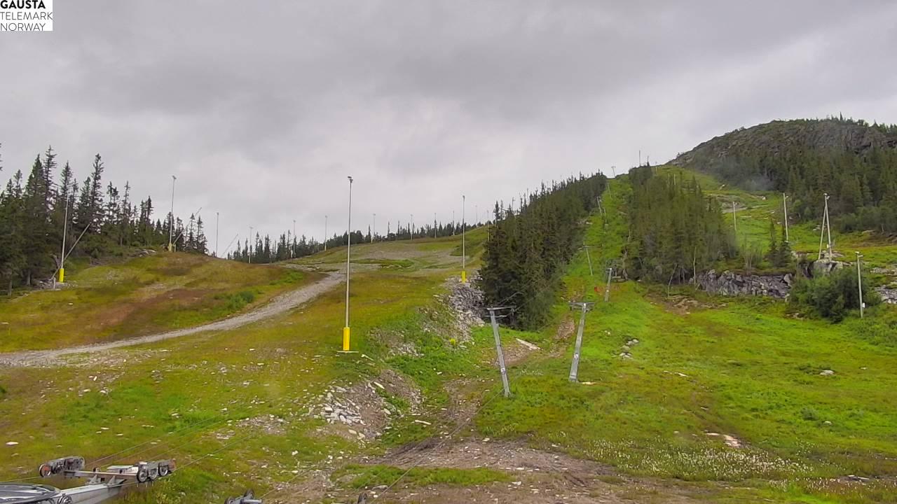 Rjukan - Gausta skisenter; Hotellbakken/Skipsheisen